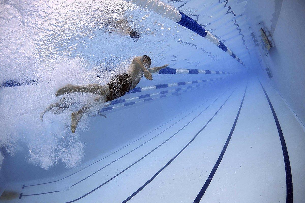 Bahnenschwimmer